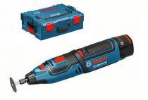 Aku multifunkční nářadí Bosch GRO 12V-35 Professional, 2x 2.0Ah, L-Boxx, aku rotační nářadí