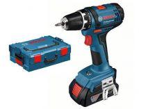 Bosch GSR 18-2-LI Professional 2x 18V/1.5Ah, 38Nm, kufr L-Boxx, aku vrtačka bez příklepu