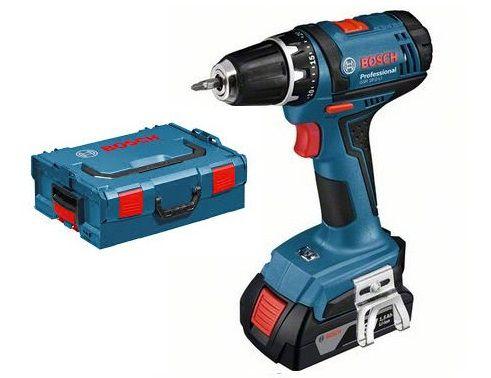 Bosch GSR 18-2-LI Professional aku vrtačka bez příklepu, 2x aku 1.5Ah, 38Nm, kufr L-Boxx (06019B7300)