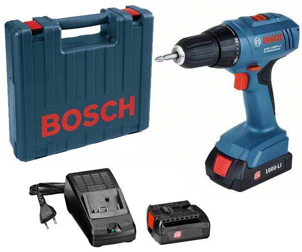 Bosch GSR 1800-LI Professional aku vrtačka bez příklepu