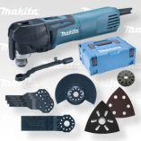 Multifunkční nářadí Makita Multi-Tool TM3010CX5J + příslušenství, v Systaineru MAKPAC