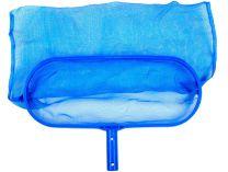 Bazénová síťka hlubinná - pro odstranění nečistot ze dna i hladiny bazénu, modrý plast, 0.38kg