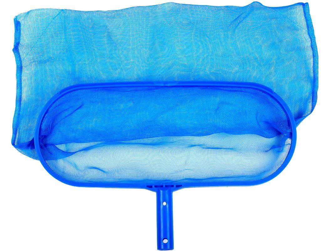 Bazénová síťka hlubinná - pro odstranění nečistot ze dna i hladiny bazénu, modrý plast, 0.38kg (311040) Hanscraft