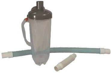 Bazénový filtr mechanických nečistot 90&24cm s hadicí, pro připojení na skimmer, hadice 90 a 24cm, 1.6kg (311420) Hanscraft