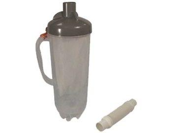Bazénový filtr mechanických nečistot s 24cm s hadicí, pro připojení na skimmer, hadice 24cm, 1.6kg (311421) Hanscraft