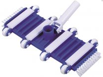 Bazénový vysavač dna - flexibilní s kolečky a bočními kartáči, na teleskopickou tyč, 2.8kg