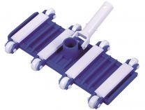 Bazénový vysavač dna - flexibilní s kolečky, na teleskopickou tyč, 3kg