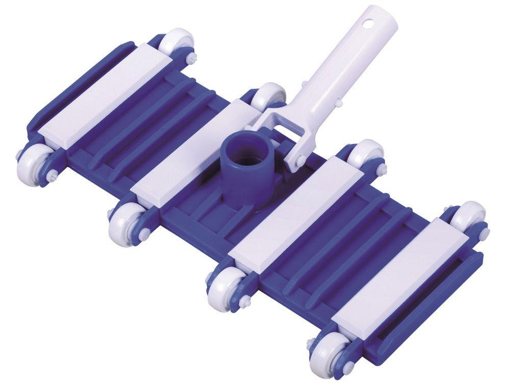 Bazénový vysavač dna - flexibilní s kolečky, na teleskopickou tyč, 3kg (311058) Hanscraft