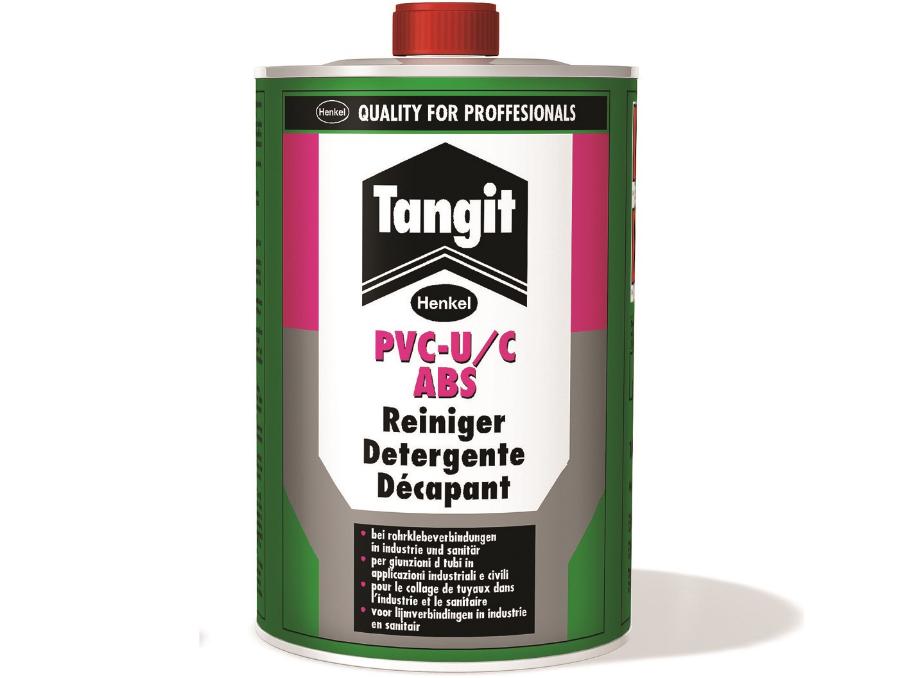Čistič Tangit PVC-U/C, ABS - 1000ml, pro spoje z PVC-U, PVC-C a ABS, 1kg (313662)