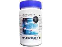 HANSCRAFT SPA - OXI2 tablety - 1kg, bezchlorový přípravek pro celosezónní údržbu vody ve vířivce