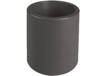 Mufna lepení/lepení - průměr 110mm, PVC nátrubek ke spojení dvou trubek, černý, 0.74kg (313058) Hanscraft