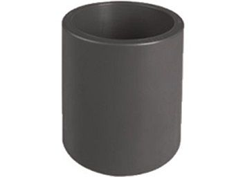 Mufna lepení/lepení - průměr 63mm, PVC nátrubek ke spojení dvou trubek, černý, 0.16kg (313051) Hanscraft