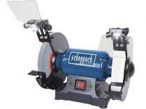 Dvoukotoučová bruska Scheppach SM 200 AL - 500W, 200mm, 13.5kg, s indukčním motorem