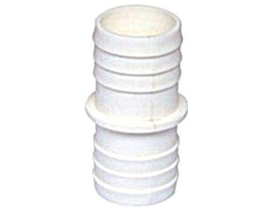 Spojka pro bazénovou plovoucí hadici, dva kusy, ⌀ 38mm, bílý plast, 0.1kg (311441) Hanscraft