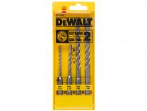 4-dílná sada vrtáků vrták do kladiv DeWALT Extreme 2, SDS-Plus - 5,6,8,10mm