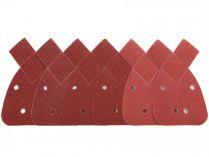 6 dílná sada brusných papírů pro mutlibrusku Bosch PSM Primo - 135x95mm (2x 80, 2x 120, 2x 180)