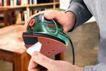 6 dílná sada brusných papírů pro mutlibrusku Bosch PSM Primo - 135x95mm (2x 80, 2x 120, 2x 180), kód: 2609256A72 Bosch příslušenství