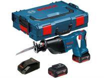 Aku pila ocaska Bosch GSA 18 V-LI Professional - 2x 18V/5.0Ah, 3.4kg, kufr L-BOXX
