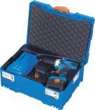 Aku vrtačka bez příklepu Narex ASV 14-2A - 2x aku 14.4V/4.0Ah, 54Nm, 2 rychl., 1.8kg, v kufru Systainer T-Loc (65403941)