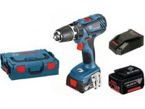 Bosch GSB 14,4-2-LI Plus Professional - 2x 14.4V/4.0Ah, 59Nm, 2 rychl., 1.5kg, kufr, aku vrtačka s příkl.