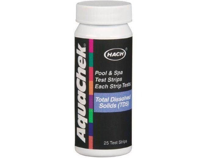 AquaChek testovací proužky - celkově rozpuštěných pevných látek, k testování vody ve vířivce, 0.05kg (318327) Hanscraft