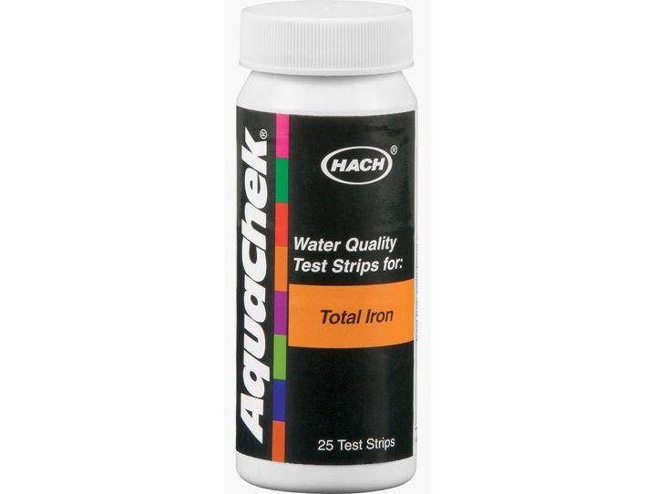 AquaChek testovací proužky - celkové železo, k testování vody v bazénu a vířivce, 0.05kg (318326) Hanscraft