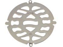 Bazénová nerezová mřížka MTS na dnové výpusti, kruhová, nerez AISI 316, 0.3kg