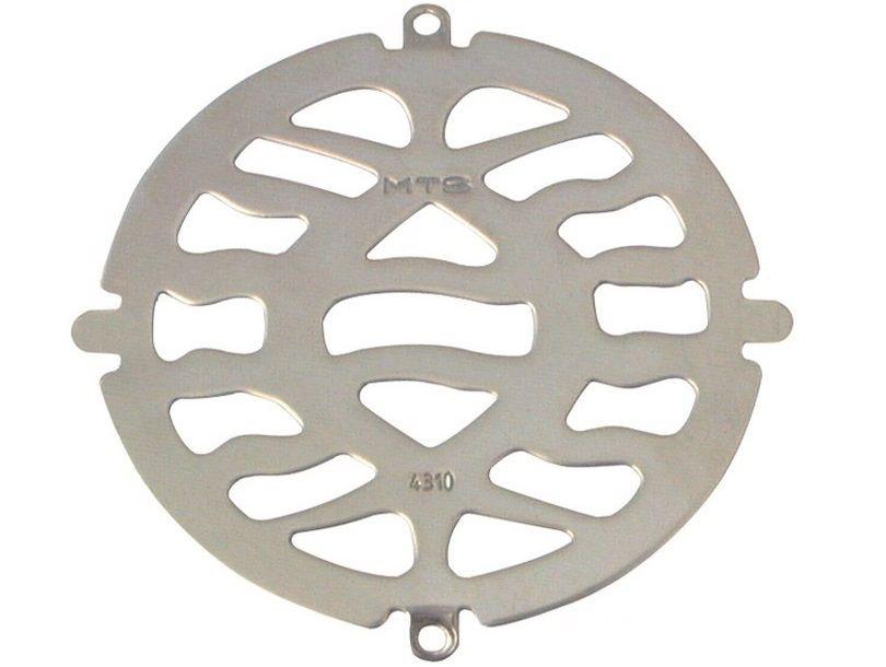 Bazénová nerezová mřížka MTS na dnové výpusti, kruhová, nerez AISI 316, 0.3kg (308258) Hanscraft