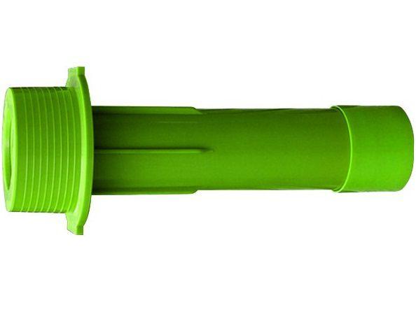 """Bazénový průchod stěnou bazénu 2""""x1/2"""" 50x63x300mm MTS, pro vratné trysky MTS, zelený ABS plast, 0.19kg (308245) Hanscraft"""