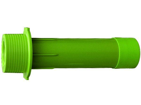 """Bazénový průchod stěnou bazénu 2""""x2"""" 63x75x300mm MTS, zelený ABS plast, 0.22kg (308246) Hanscraft"""
