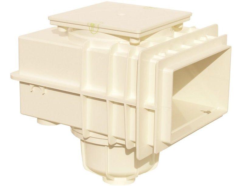 Bazénový Skimmer V20 ABS 240x140mm pro beton - MTS, bílý plast, 4.5kg (308301) Hanscraft