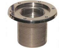 """Bazénový základní prvek 2"""" 70mm nerez pro fólie - součást trysky MTS, nerez AISI 316, 0.7kg"""