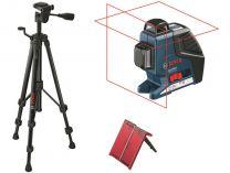 Křížový laser Bosch GLL 2-80 P Professional + stativ BT 150, Profi křížový laser