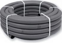Bazénová PVC Flexi hadice - 63mm externí (55mm interní) - 25m - ES, šedá, 24kg