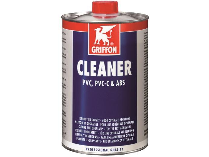 Čistič Griffon PVC, PVC-C & ABS 500ml pro očištění PVC trubek, hadic a instalačního materiálu, 0.5kg (317051) Hanscraft