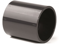 Mufna lepení/lepení - průměr 63mm, PT nátrubek, černý, 0.14kg
