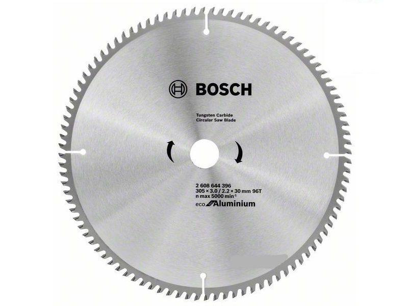 Pilový kotouč na HLINÍK a dřevo Bosch Eco for Aluminium 305x30x3.0mm, 96 zubů (2608644396) Bosch příslušenství