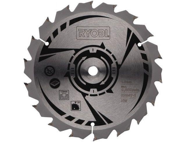 Pilový kotouč pro okružní pily Ryobi LCS 180 a RWSL 1801 M - 150x10mm, 18 zubů (Ryobi CSB 150 A1), kód: 5132002579