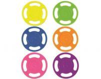 Potápěčské disky - sada bazénových hraček, různé barvy, plast, 0.15kg