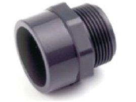 """Přechodový nipl lepení/závit externí 75x2 1/2"""", PT tvarovka šedá, k propojení trubek, 0.25kg (317309) Hanscraft"""