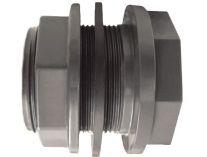 """Průchodka lepení/závit externí 63x2 1/2"""" závit externí - CH - PVC tvarovka šedá, 0.02kg"""