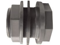 """Průchodka lepení/závit externí 50x2"""" závit externí - CH - PVC tvarovka šedá, 0.02kg"""