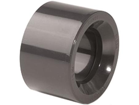 Redukce krátká lepení/lepení 50x32mm, k propojení trubek, PT, černá, 0.04kg (317160) Hanscraft