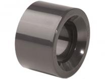 Redukce krátká lepení/lepení 50x40mm, PT, černá, 0.06kg