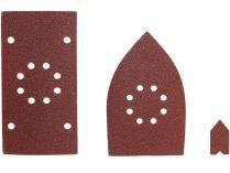 Sada brusných papírů pro vibrační delta brusku Ryobi EMS180RV - 30ks, 0.26kg