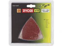 Sada brusných papírů pro vibrační delta brusku Ryobi RMT1801M a RMT1201M - 10ks, 0.14kg