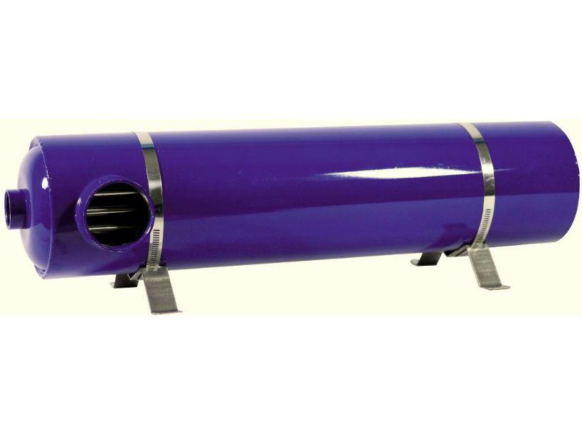Tepelný výměník HANSCRAFT ELITE 120 - 120kW, 21m3/hod, nerezová ocel AISI 31, pro ohřev vody v bazénu a vířivce 10.9kg (303073)