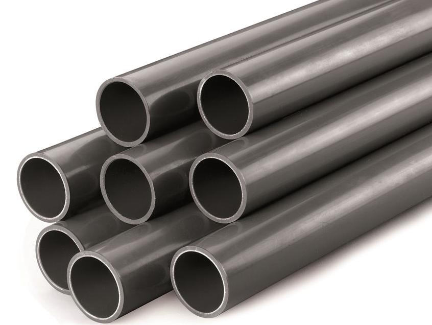 Trubka PVC 125x4,8mm PN 10 šedá - 5m, pro bazénový systém, lepení, 15kg (317028) Tangit