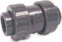 Ventil kuželový zpětný lepení/lepení 50mm - pružina - PT, šedý, 0.6kg