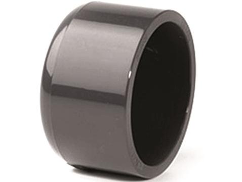 Zátka lepení - průměr 50mm, k uzavření trubky, PT, černá, 0.01kg (317205) Hanscraft